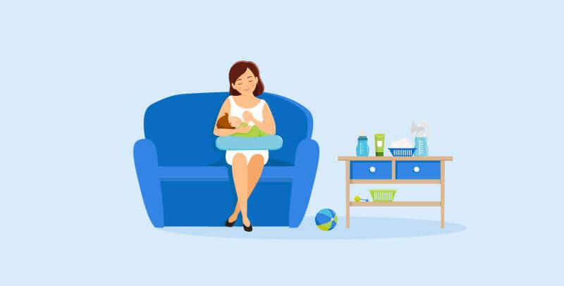 איך שומרים על הספה כשיש תינוק בבית